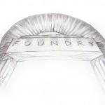 Foundry Logo Arch